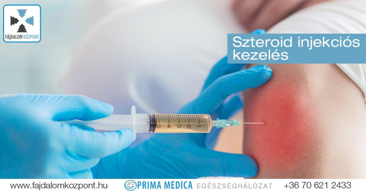 fájdalom az ujjízületben történő injekció beadása után