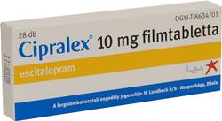 Eszcitalopram (Cipralex, Scippa) | BÚRA Alapítvány
