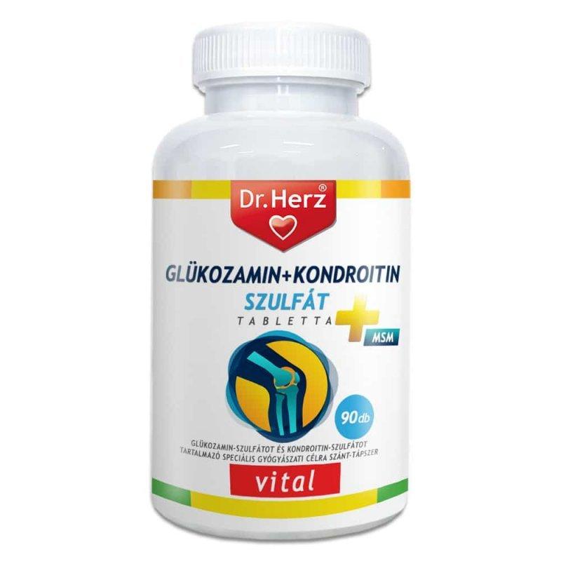 kondroitin és glükozamin készítmények