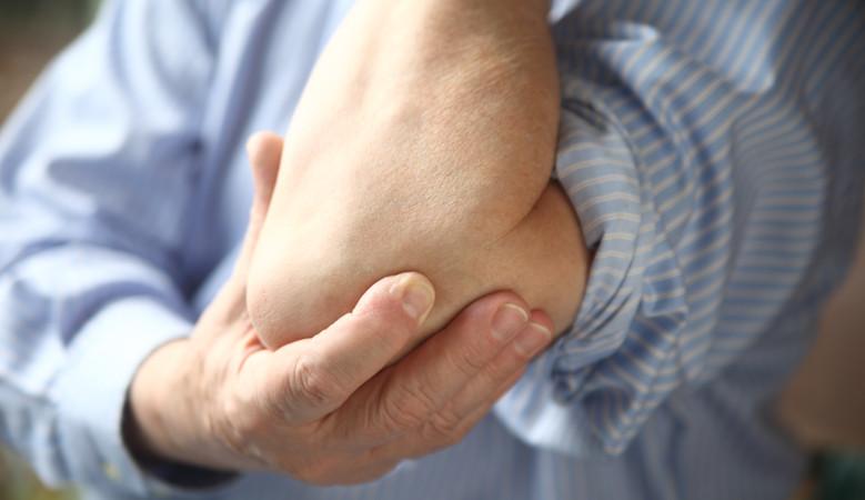 fájdalom a könyök alatt terhelés alatt a könyökízület fáj