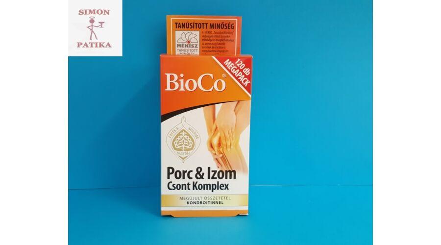 Bioco porc és izom csont komplex 120 db