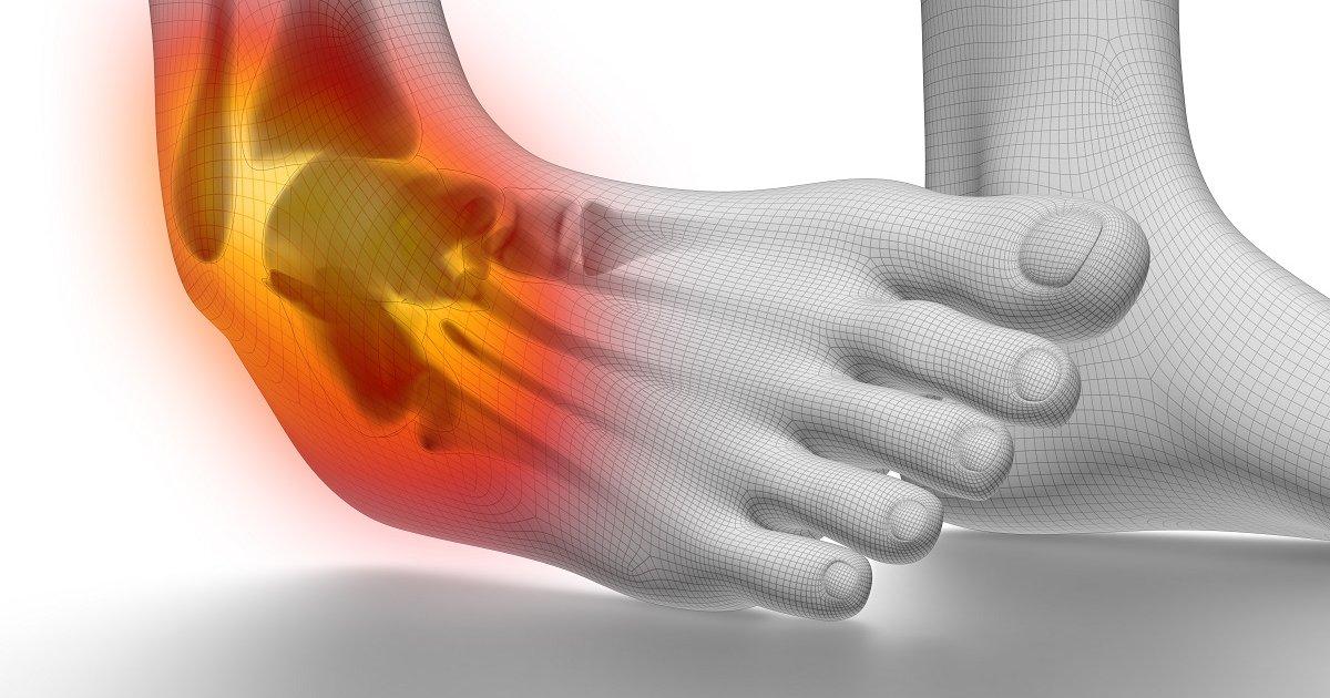 a bokaízület fájdalma és duzzanata