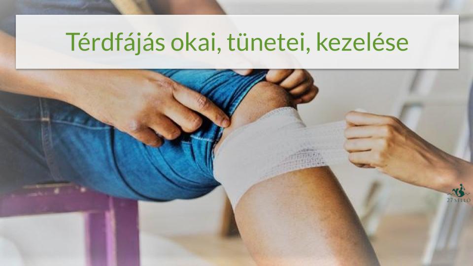 térdízületi fájdalom a sérülés után, mit kell tenni
