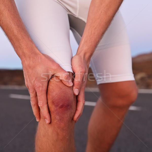 sportos térd sérülés