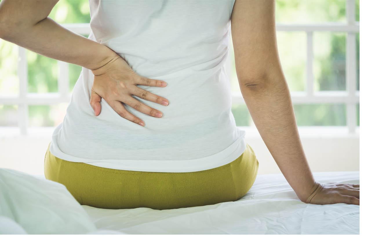 Miből tudod, hogy a hátad vagy a veséd fáj? - Dívány