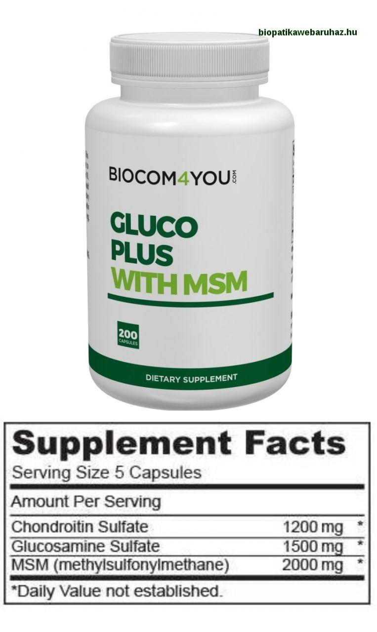 glükozamin-kondroitin metabolizmus