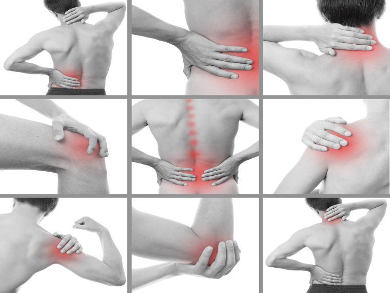 izomfájdalmak és ízületek kezelése