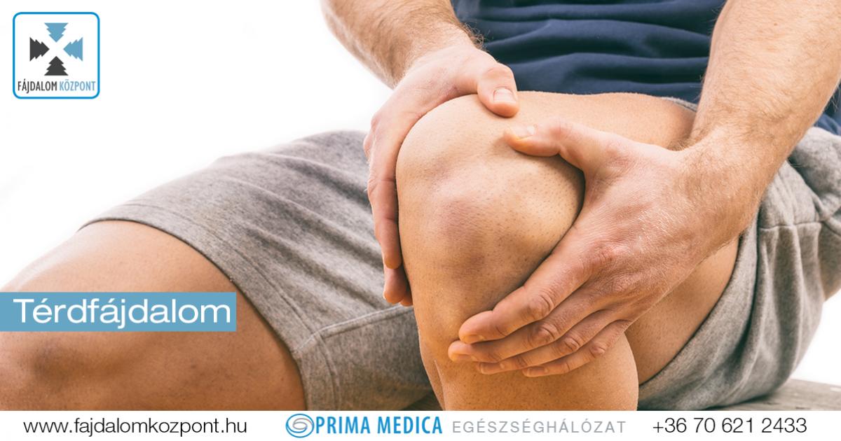 térd fájdalomcsillapítása térdízületi kezelés meniszkuszának krónikus törése