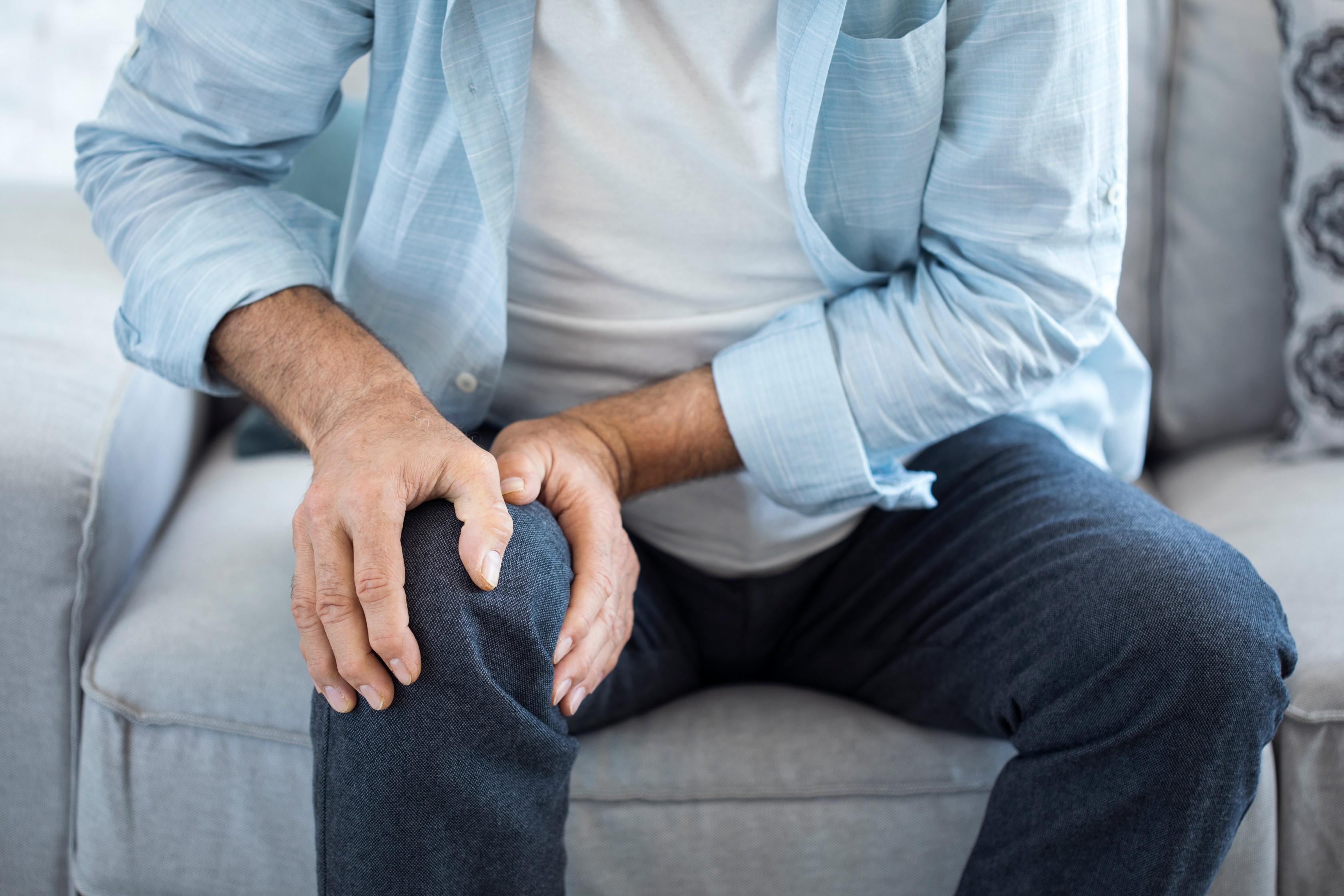 térdízületi kezelés bursitis otthon