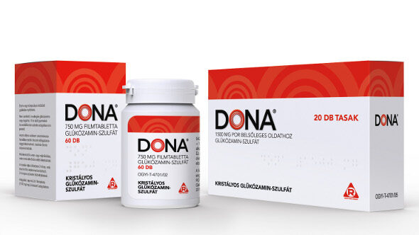 Glucosamine Chondroitin MSM tabletta - 60 tabletta - Új termékek