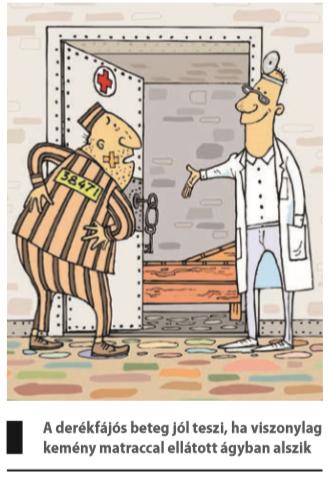 gerincvelő derékfájás